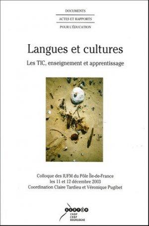 Langues et cultures - Canopé - CRDP de Dijon - 9782866213510 -