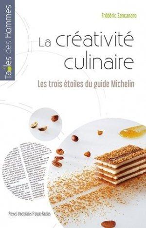 La créativité culinaire - presses universitaires francois rabelais - 9782869067080 -