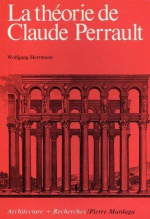 La théorie de Claude Perrault - Editions Mardaga - 9782870091227 - https://fr.calameo.com/read/000015856c4be971dc1b8