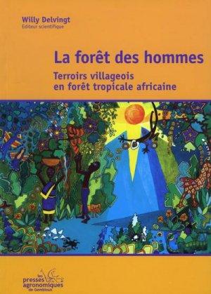La forêt des hommes - presses agronomiques de gembloux - 9782870160640 -