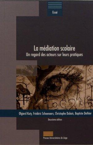 La médiation scolaire - Presses Universitaires de Liège - 9782875622099 -