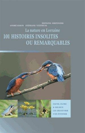 La nature en Lorraine - serpenoise - 9782876929517 -