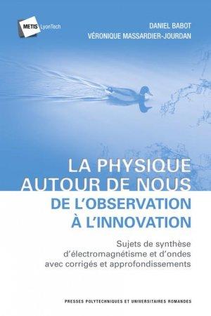 la physique autour de nous - presses polytechniques et universitaires romandes - 9782889150700