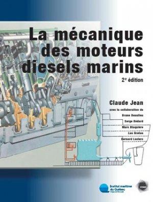 La mécanique des moteurs diesels marins - ccdmd (canada) - 9782894700945 -