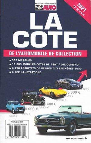 La cote de l'automobile de collection - lva (la vie de l'auto) - 9782900246054 -