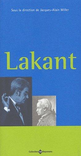 Lakant - Ecole de la Cause Freudienne - 9782905040435 -