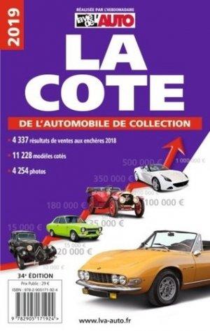 La cote de l'automobile de collection 2020 - lva (la vie de l'auto) - 9782905171962 -