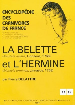 La belette et l'hermine - museum national d'histoire naturelle - mnhn - 9782905216083 -