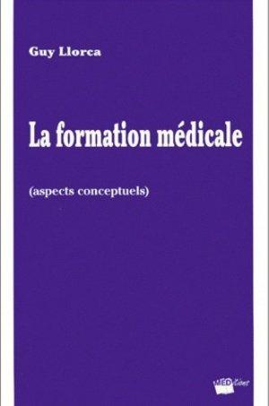 La formation médicale (aspects conceptuels) - Meditions - 9782905839305 -