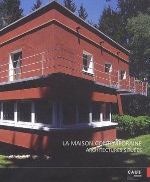 La maison contemporaine - caue du rhone - 9782912533197 -