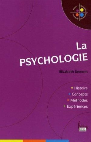 La psychologie - sciences humaines - 9782912601766 -