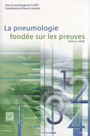 La pneumologie fondée sur les preuves - margaux orange - 9782914206334 -