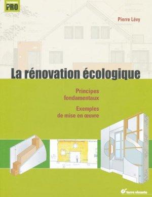 La rénovation écologique - terre vivante - 9782914717762