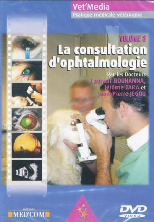 La consultation d'ophtalmologie vol 3 - med'com - 9782914738675 -