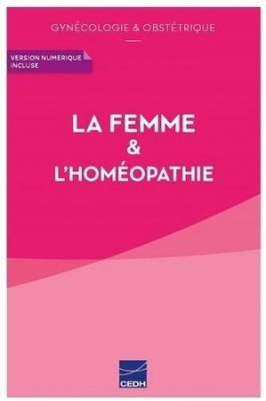 La femme & l'homéopathie - cedh - 9782915668902 -