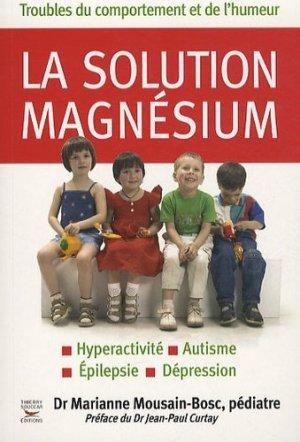 La solution magnésium - thierry souccar - 9782916878522 -