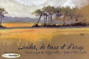 Landes, de terre et d'eaux - passiflore - 9782918471066 -