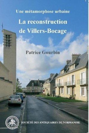 La reconstruction de Villers-Bocage. Une métamorphose urbaine - Société des antiquaires de Normandie - 9782919026197 - https://fr.calameo.com/read/005884018512581343cc0