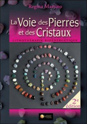 La voie des pierres et des cristaux - ambre  - 9782940594009 -