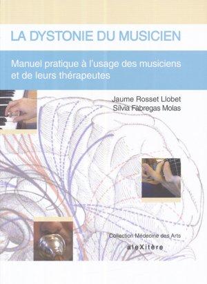 La dystonie du musicien - alexitere - 9782952761697 -