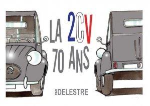 La 2CV. 70 ans - Food éditions - 9782955349748 -