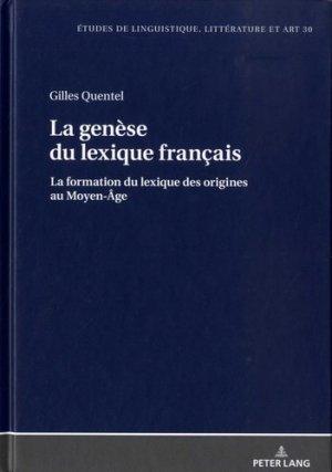 La genèse du lexique français - peter lang - 9783631656778