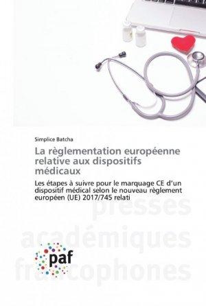 La règlementation européenne relative aux dispositifs médicaux - presses academiques francophones - 9783838144689 -
