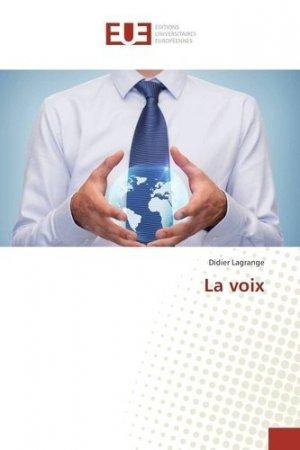 La voix - universitaires europeennes - 9783841730824 -