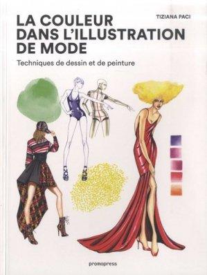La couleur dans l'illustration de mode. Techniques de dessin et de peinture - Promopress - 9788416851959 -