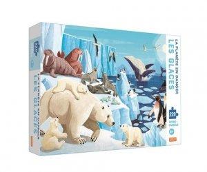 La planète en danger - Les glaces - sassi - 9788830304543 -