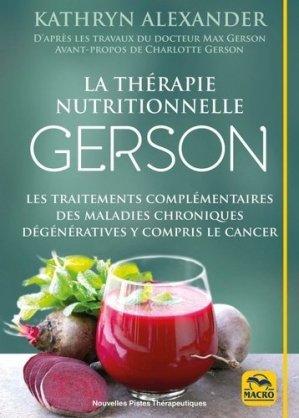 La cure gerson - macro - 9788893193184 -