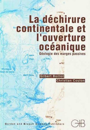 La déchirure continentale et l'ouverture - gordon and breach - 9789056991883 -