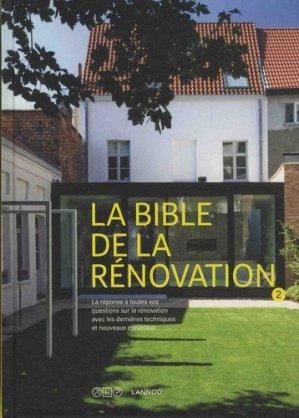 La bible de la rénovation - lannoo/at home publishers - 9789401446945 -