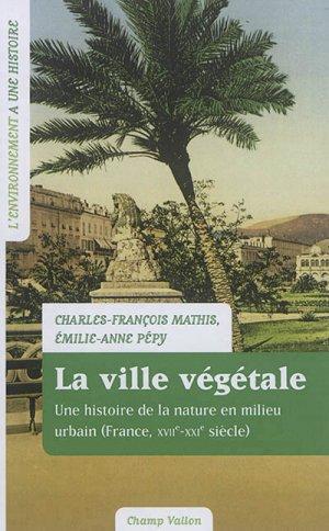 La ville végétale - champ vallon - 9791026706335 -