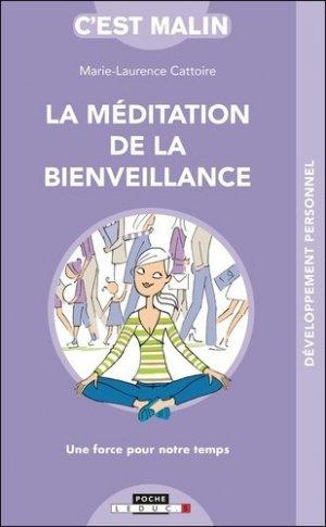 La méditation de la bienveillance, c'est malin - leduc - 9791028516192 -