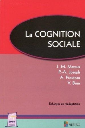 La cognition sociale - sauramps medical - 9791030300482 -