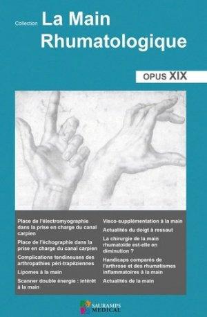 La main rhumatologique - sauramps medical - 9791030301908 -