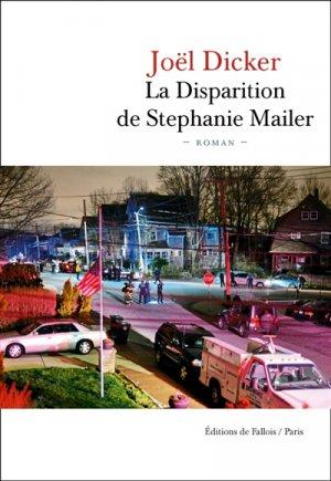 La disparition de Stephanie Mailer - de fallois - 9791032102008 -