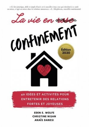 La vie en confinement - Bookelis - 9791035934224 -