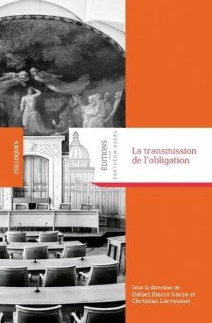 La transmission de l'obligation - Editions Panthéon-Assas - 9791090429970 -