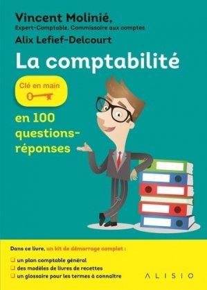 La comptabilité en 100 questions-réponses - Alisio - 9791092928280 -