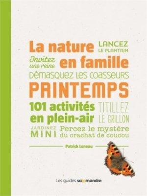 La nature en famille - printemps - la salamandre - 9791093655208 -