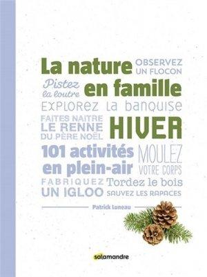 La nature en famille hiver - la salamandre - 9791093655475 -