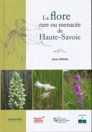 La Flore rare ou menacée de Haute-Savoie - naturalia publications - 9791094583005 -