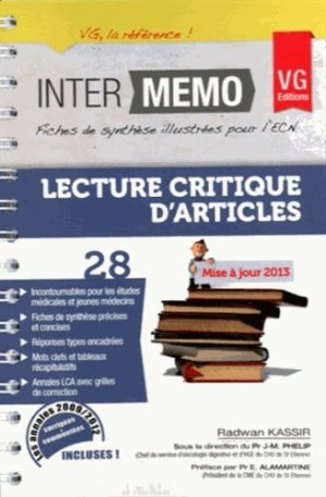 LCA Lecture critique d'article - vernazobres grego - 9782818308448 -