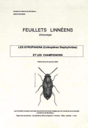Les Gyrophaena (Coléoptères Staphylinidae) et les champignons - societe linneene de bordeaux - 2223588652586 -