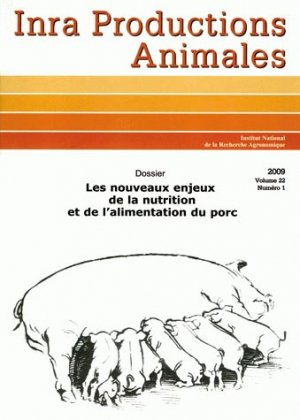 Les nouveaux enjeux de la nutrition et de l'alimentation du porc - inra  - 9782759229130