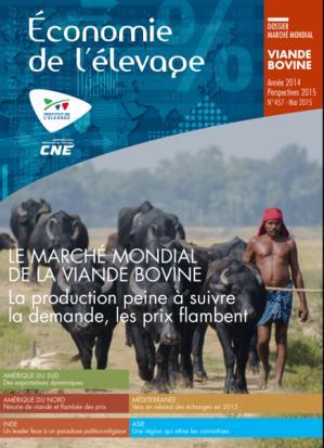 Le marché mondial de la viande bovine en 2014 - Perspectives 2015 - technipel / institut de l'elevage - 2224574301365 -