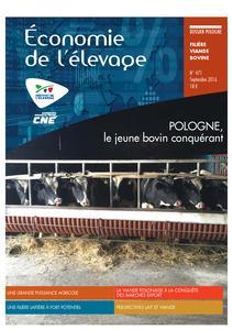 Les filières viande bovine et lait en Pologne - technipel / institut de l'elevage - 2224960654297 -
