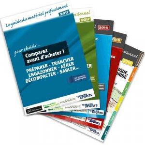 Les guides du matériel professionnel - Préparer, trancher, engazonner - horticulture et paysage - 2225002941993 -